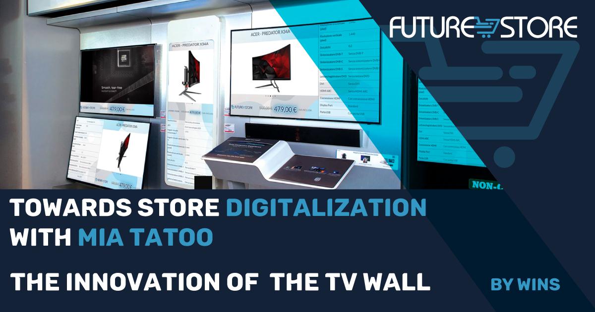 Innovation of TV Wall